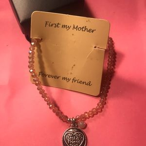 Avon - mom best friend crystal bracelet
